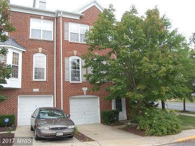 Silver Spring Townhouse For Sale: 1654 Treetop View Terrace