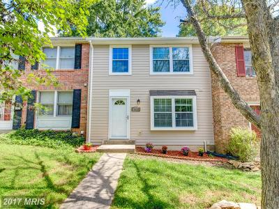 Gaithersburg Townhouse For Sale: 19919 Buhrstone Drive