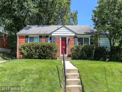 Rockville MD Single Family Home For Sale: $349,900