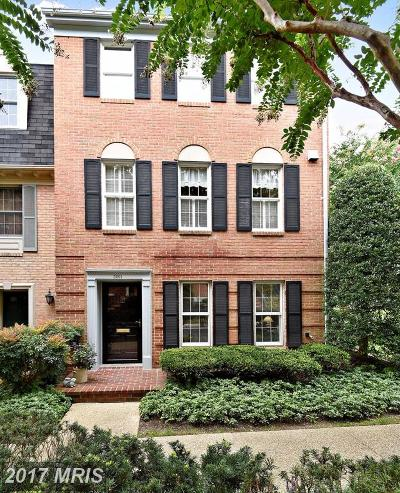 Bethesda Townhouse For Sale: 5201 Crown Street #1