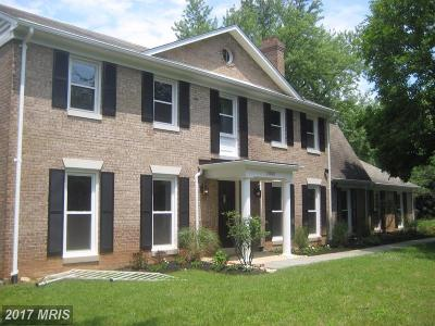 Rockville MD Single Family Home For Sale: $689,000
