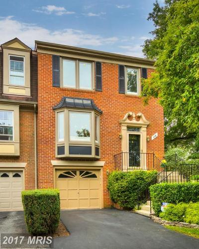 North Bethesda Townhouse For Sale: 26 Cedarwood Court