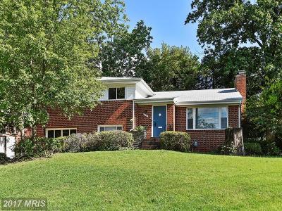 Bethesda Single Family Home For Sale: 6206 Wilson Lane