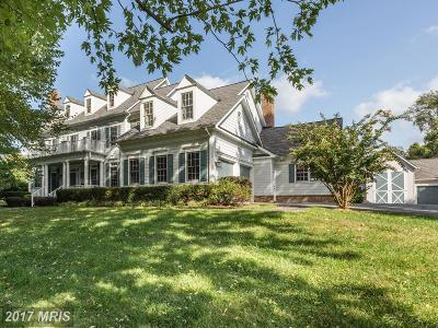 Darnestown Single Family Home For Sale: 15301 Berryville Road