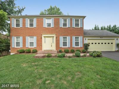 Rockville MD Single Family Home For Sale: $700,000