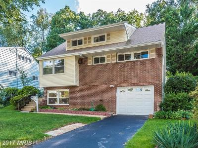 Rockville MD Single Family Home For Sale: $449,900