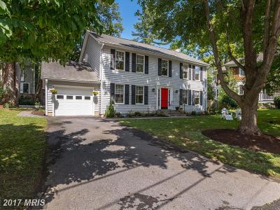 Bethesda Single Family Home For Sale: 4 Wyoming Court