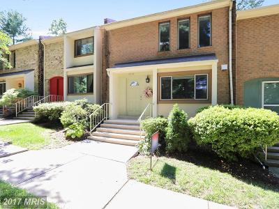 Kensington Townhouse For Sale: 3728 Nimitz Road