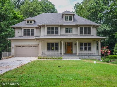 Bethesda Single Family Home For Sale: 6909 Wilson Lane