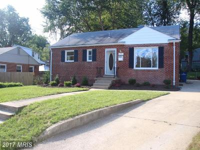 Silver Spring Single Family Home For Sale: 3829 Brightview Court