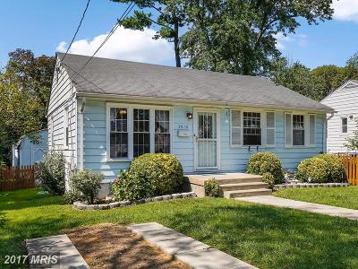 Bethesda Single Family Home For Sale: 9912 Montauk Avenue