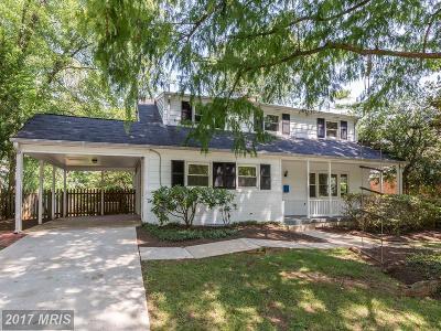 Bethesda Single Family Home For Sale: 6305 Rockhurst Road
