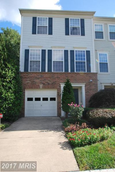 Germantown Townhouse For Sale: 13720 Dunbar Terrace