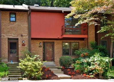 Rockville Townhouse For Sale: 7883 Briardale Terrace