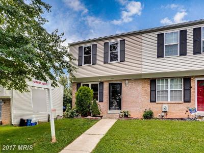 Gaithersburg Townhouse For Sale: 9041 Chesley Knoll Court