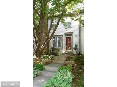 Germantown MD Townhouse For Sale: $285,000