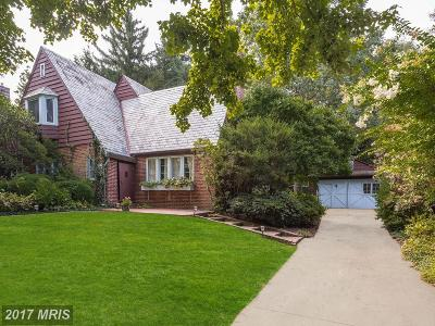 Chevy Chase Single Family Home For Sale: 4720 Drummond Avenue
