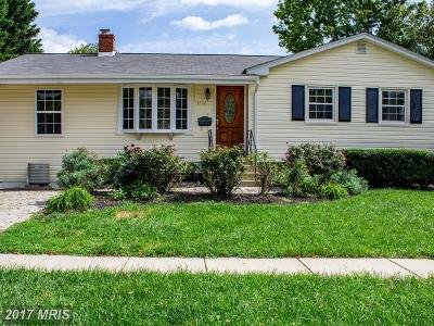 Rockville Single Family Home For Sale: 4712 Bartram Street