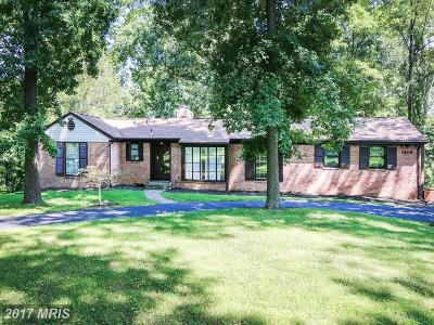 Silver Spring Single Family Home For Sale: 1909 Park Vista Drive