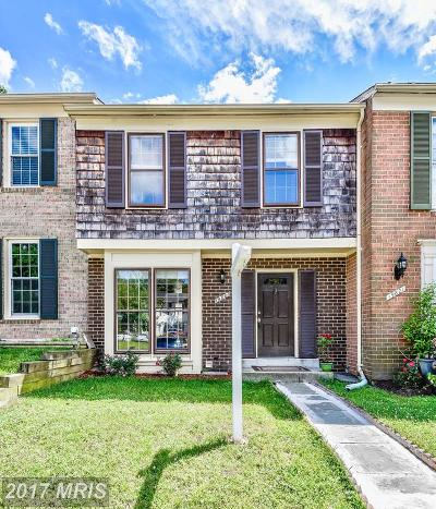 Gaithersburg Townhouse For Sale: 19803 Billings Court