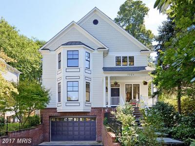 Chevy Chase Single Family Home For Sale: 7305 Summit Avenue