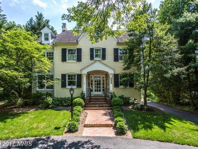 Chevy Chase Single Family Home For Sale: 4922 Dorset Avenue