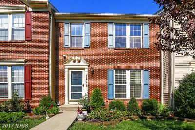 Germantown Townhouse For Sale: 21334 Bunyan Circle #198