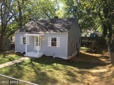 Silver Spring MD Single Family Home For Sale: $349,900