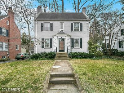 Chevy Chase Single Family Home For Sale: 4206 Leland Street