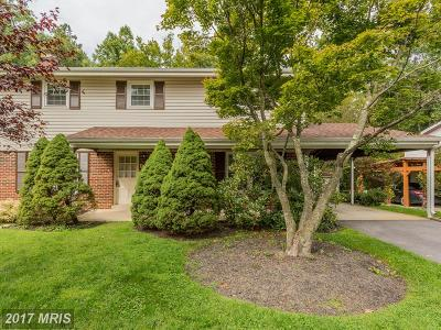 Silver Spring Single Family Home For Sale: 13110 Wilton Oaks Drive