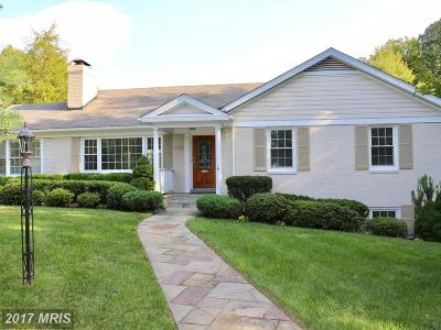 Chevy Chase Single Family Home For Sale: 5134 Bradley Boulevard