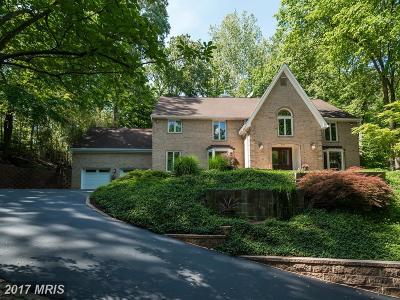 Bethesda Single Family Home For Sale: 8009 Bradley Boulevard