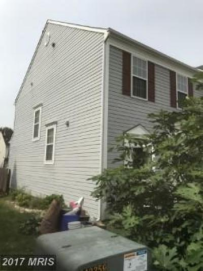 Germantown Townhouse For Sale: 12000 Panthers Ridge Drive #END