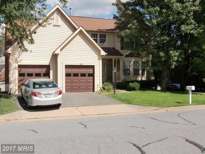 Gaithersburg Single Family Home For Sale: 235 Bristol Downs Drive