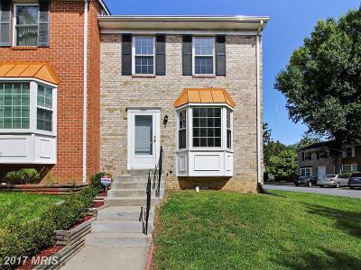 Gaithersburg Townhouse For Sale: 1001 Southern Night Lane