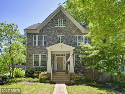 Bethesda Single Family Home For Sale: 5508 Oak Place