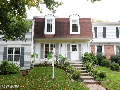 Germantown Townhouse For Sale: 18256 Smoke House Court