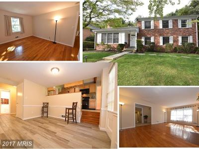North Bethesda Single Family Home For Sale: 7049 Wolftree Lane