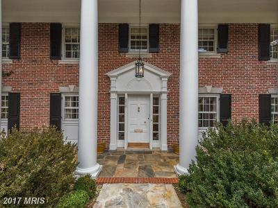 Chevy Chase Single Family Home For Sale: 6605 Kennedy Drive