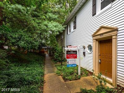 Silver Spring Townhouse For Sale: 8505 Bradford Road #5-3