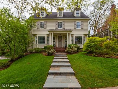 Chevy Chase Single Family Home For Sale: 3800 Underwood Street