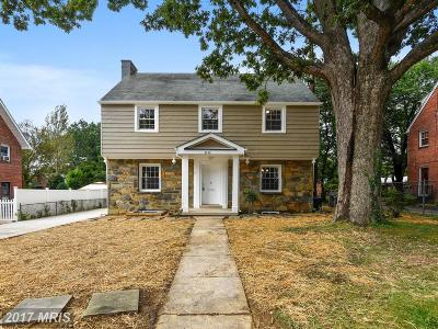 Silver Spring Single Family Home For Sale: 8910 Flower Avenue