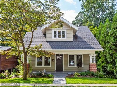 Bethesda Single Family Home For Sale: 6406 Ridge Drive