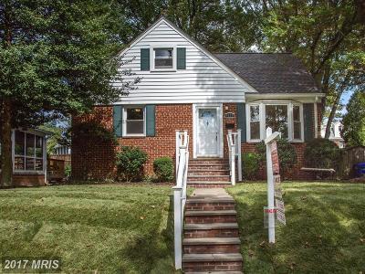 Kensington Single Family Home For Sale: 4921 Strathmore Avenue
