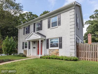Kensington Single Family Home For Sale: 4423 Brookfield Drive