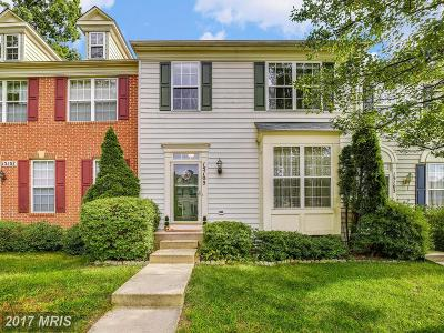Silver Spring Townhouse For Sale: 15105 Alpine Valley Court