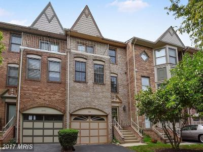 Silver Spring Townhouse For Sale: 8844 Woodland Drive