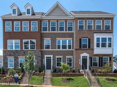 Montgomery Townhouse For Sale: 12855 Clarksburg Square Road