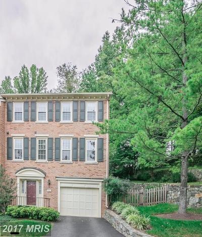 Potomac Townhouse For Sale: 7801 Turning Creek Court