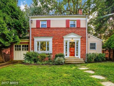 Bethesda Single Family Home For Sale: 5718 Massachusetts Avenue
